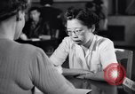 Image of Japanese Registration Control Station San Francisco California USA, 1942, second 9 stock footage video 65675037093