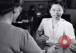 Image of Japanese Registration Control Station San Francisco California USA, 1942, second 11 stock footage video 65675037093