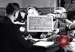 Image of Japanese Registration Control Station San Francisco California USA, 1942, second 1 stock footage video 65675037094