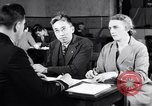 Image of Japanese Registration Control Station San Francisco California USA, 1942, second 5 stock footage video 65675037094