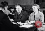 Image of Japanese Registration Control Station San Francisco California USA, 1942, second 10 stock footage video 65675037094