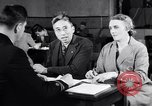 Image of Japanese Registration Control Station San Francisco California USA, 1942, second 11 stock footage video 65675037094