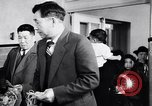 Image of Japanese Registration Control Station San Francisco California USA, 1942, second 11 stock footage video 65675037098
