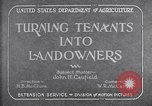 Image of New agriculture colony under Federal Emergency Relief Administration Arkansas United States USA, 1936, second 7 stock footage video 65675037099
