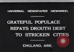 Image of drought relief by civilians during depression England Arkansas USA, 1931, second 1 stock footage video 65675037100