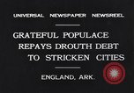 Image of drought relief by civilians during depression England Arkansas USA, 1931, second 3 stock footage video 65675037100