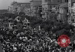 Image of carnival procession Viareggio Italy, 1931, second 11 stock footage video 65675037101