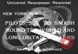 Image of round the world flight New York United States USA, 1933, second 4 stock footage video 65675037111