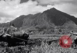 Image of plowing a field with water buffalo Honolulu Hawaii USA, 1942, second 5 stock footage video 65675037119