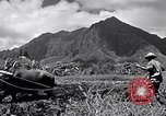 Image of plowing a field with water buffalo Honolulu Hawaii USA, 1942, second 6 stock footage video 65675037119