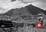 Image of plowing a field with water buffalo Honolulu Hawaii USA, 1942, second 7 stock footage video 65675037119