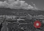 Image of houses and government building Honolulu Hawaii USA, 1942, second 5 stock footage video 65675037123