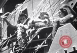Image of Three girls are among passengers leaving on Matson ocean liner Honolulu Hawaii USA, 1942, second 1 stock footage video 65675037126