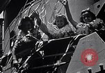 Image of Three girls are among passengers leaving on Matson ocean liner Honolulu Hawaii USA, 1942, second 6 stock footage video 65675037126