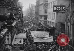 Image of communists demonstrate Mexico City Mexico, 1938, second 4 stock footage video 65675037132