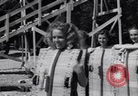 Image of girls in water park Enfield Maine USA, 1938, second 9 stock footage video 65675037137