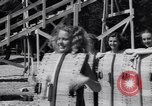 Image of girls in water park Enfield Maine USA, 1938, second 10 stock footage video 65675037137