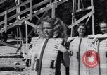 Image of girls in water park Enfield Maine USA, 1938, second 11 stock footage video 65675037137