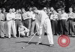 Image of golfer J Smith Ferebree Olympia Fields Illinois USA, 1938, second 5 stock footage video 65675037138