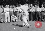 Image of golfer J Smith Ferebree Olympia Fields Illinois USA, 1938, second 7 stock footage video 65675037138