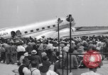 Image of aviator Douglas Corrigan Boston Massachusetts USA, 1938, second 10 stock footage video 65675037140