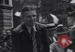 Image of aviator Douglas Corrigan Boston Massachusetts USA, 1938, second 12 stock footage video 65675037140