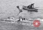 Image of log rollers Nova Scotia, 1938, second 12 stock footage video 65675037141