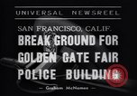 Image of Golden Gate Fair Police building San Francisco California USA, 1938, second 6 stock footage video 65675037142