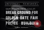 Image of Golden Gate Fair Police building San Francisco California USA, 1938, second 7 stock footage video 65675037142