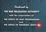 Image of Japanese relocated United States USA, 1944, second 12 stock footage video 65675037154