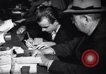 Image of American men register for draft in World War 2 United States USA, 1940, second 10 stock footage video 65675037158