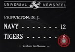 Image of football match Princeton New Jersey USA, 1940, second 7 stock footage video 65675037165