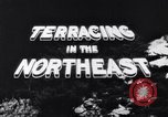 Image of Terracing in the Northeast United States USA, 1939, second 11 stock footage video 65675037168