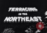 Image of Terracing in the Northeast United States USA, 1939, second 12 stock footage video 65675037168