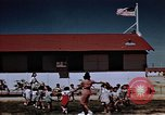 Image of relocation center school children United States USA, 1940, second 12 stock footage video 65675037173