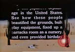 Image of Japanese American orphanage United States USA, 1940, second 7 stock footage video 65675037175