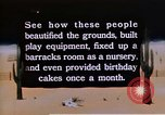 Image of Japanese American orphanage United States USA, 1940, second 11 stock footage video 65675037175