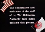 Image of Japanese-American civilians United States USA, 1940, second 12 stock footage video 65675037179
