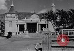 Image of Japanese temple Honolulu Hawaii USA, 1941, second 1 stock footage video 65675037188