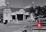 Image of Japanese temple Honolulu Hawaii USA, 1941, second 9 stock footage video 65675037188