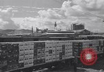 Image of Railroad flat cars carrying materials Honolulu Hawaii USA, 1942, second 1 stock footage video 65675037190