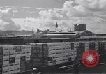 Image of Railroad flat cars carrying materials Honolulu Hawaii USA, 1942, second 9 stock footage video 65675037190