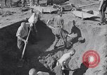 Image of Exhumation of Czech patriots Czechoslovakia, 1946, second 3 stock footage video 65675037198