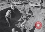Image of Exhumation of Czech patriots Czechoslovakia, 1946, second 6 stock footage video 65675037198