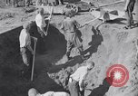 Image of Exhumation of Czech patriots Czechoslovakia, 1946, second 7 stock footage video 65675037198