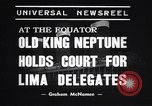 Image of court of Old King Neptune Lima Peru, 1938, second 2 stock footage video 65675037204
