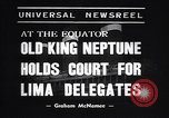 Image of court of Old King Neptune Lima Peru, 1938, second 3 stock footage video 65675037204