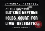 Image of court of Old King Neptune Lima Peru, 1938, second 4 stock footage video 65675037204