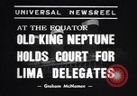 Image of court of Old King Neptune Lima Peru, 1938, second 7 stock footage video 65675037204