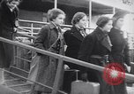 Image of German-Jewish refugees Harwich England, 1938, second 5 stock footage video 65675037207